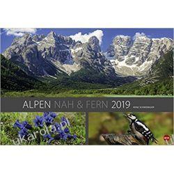 Kalendarz Alpy Calendar The Alps Góry