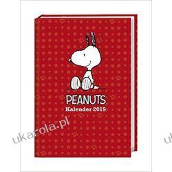 Kalendarz książkowy Peanuts Fistaszki 2019 Calendar Planner