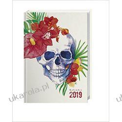 Kalendarz książkowy Czaszka 2019 Calendar