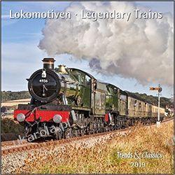 Kalendarz Lokomotywy Pociągi 2019 Legendary Trains Calendar