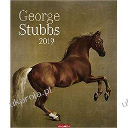 Kalendarz Sztuka Konie 2019 George Stubbs Art Calendar Książki i Komiksy