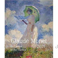 Kalendarz Claude Monet In the garden Art Calendar 2019 Książki i Komiksy