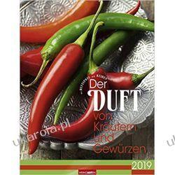 Kalendarz Zioła i Przyprawy 2019 Herbs and Spices Calendar Książki i Komiksy