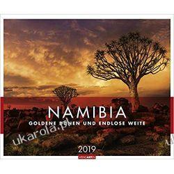 Kalendarz Namibia 2019 Calendar Książki i Komiksy