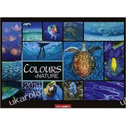 Kalendarz Kolory Natury 2019 Colours of Nature Calendar