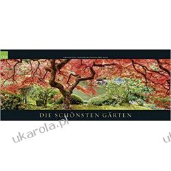 Kalendarz panoramiczny Garden 2019 Calendar Ogrody