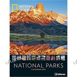Kalendarz Parki Narodowe 2019 National Geographic National Parks NG Calendar