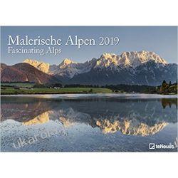Kalendarz Alpy Fascinating Alps 2019 Calendar