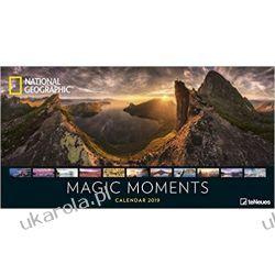 Kalendarz Krajobrazy NG National Geographic Magic Moments 2019 Calendar