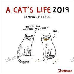 Kalendarz Koty A Cat's life 2019 Calendar Historyczne