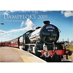 Kalendarz Parowozy Steam Engines 2019 Calendar