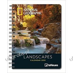 Kalendarz książkowy NG Krajobrazy National Geographic Landscapes 2019 Planner Calendar