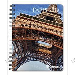 Kalendarz książkowy Notatnik Paryż Paris 2019 Planner Calendar
