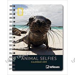 Kalendarz książkowy Animal Selfies 2019 Zwierzęta Planner Calendar