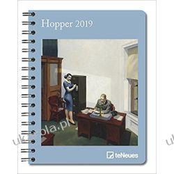 Kalendarz książkowy Art Notatnik Hopper 2019 Planner Calendar