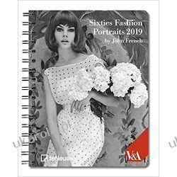 Kalendarz książkowy Notatnik Moda lat 60-tych Sixties Fashion 2019 Planner Calendar