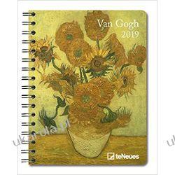 Kalendarz książkowy Van Gogh 2019 Art Planner Calendar