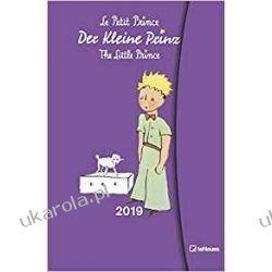 Kalendarz książkowy Mały Książę The Little Prince 2019 Small Magneto Diary Calendar