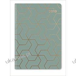 Kalendarz książkowy GlamLine Booklet Diary JADE | COPPER 2019 Calendar