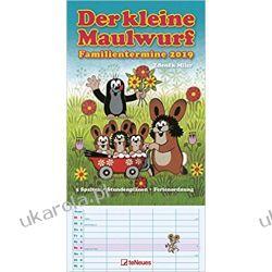Kalendarz Krecik The Little Mole 2019 Calendar