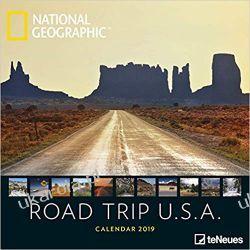 Kalendarz Stany Zjednoczone National Geographic Road Trip USA 2019 Calendar