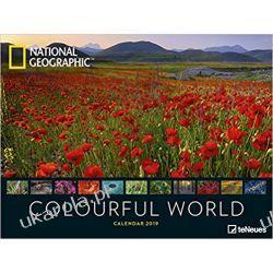 Kalendarz Krajobrazy Colourful World 2019 National Geographic Calendar