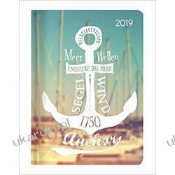 Kalendarz książkowy Kotwica Morze 2019 Minitimer Calendar