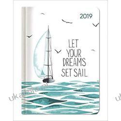 Kalendarz książkowy Żaglowiec Ladytimer Sail 2019 Calendar