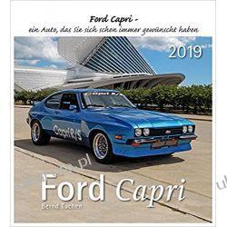 Kalendarz Ford Capri 2019 Samochody Cars Calendar