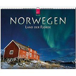 Kalendarz Norwegia Norway - land of the fjords 2019 Calendar