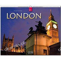 Kalendarz Londyn London 2019 Calendar