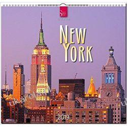 Kalendarz New York 2019 Nowy Jork Calendar
