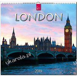 Kalendarz Londyn Anglia London 2019 Calendar