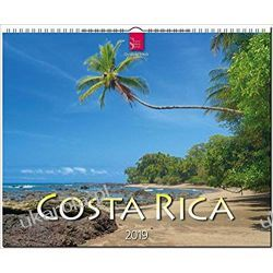 Kalendarz Kostaryka Costa Rica 2019 Calendar Gadżety i akcesoria