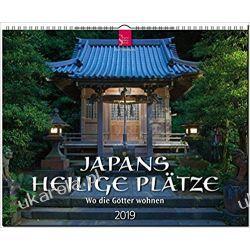 Kalendarz Japonia 2019 Święte Miejsca Japan Calendar