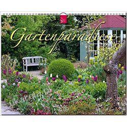 Kalendarz Garden Paradise 2019 Ogrody Calendar Gadżety i akcesoria