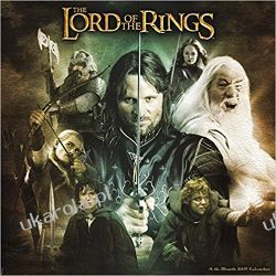 Kalendarz The Lord of the Rings 2019 Calendar