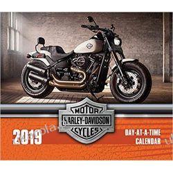 Kalendarz Harley-Davidson Motorcycles 2019 Calendar Pozostałe