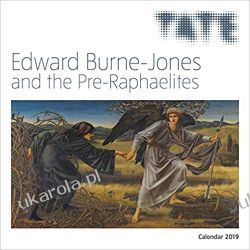 Tate - Edward Burne Jones & the Pre-Raphaelites Wall Calendar 2019 Kalendarze ścienne