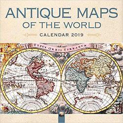 Kalendarz Antique Maps of the World Wall Calendar 2019