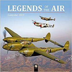 Kalendarz Samoloty Legends of the Air Wall Calendar 2019