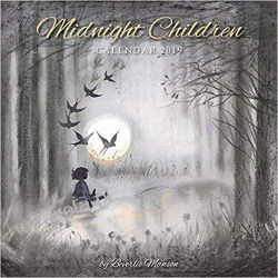 Kalendarz Midnight Children by Beverlie Manson Wall Calendar 2019 Albumy i czasopisma