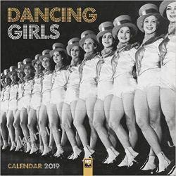 Kalendarz Dancing Girls Wall Calendar 2019 Kalendarze ścienne