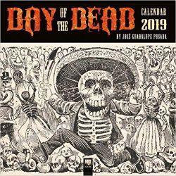 Kalendarz Day of the Dead Wall Calendar 2019