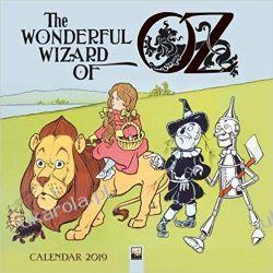 Kalendarz Czarnoksiężnik z Oz Wizard of Oz Wall Calendar 2019  Kalendarze ścienne