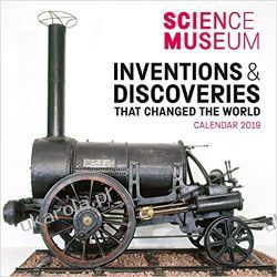 Kalendarz Science Museum - Inventions that Changed the World Wall Calendar 2019