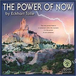Kalendarz The Power of Now 2019 Calendar: A Year of Inspirational Quotes
