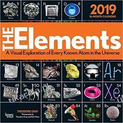 Kalendarz The Elements 2019 Square Wall Calendar