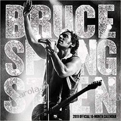 Kalendarz Bruce Springsteen 2019 Square Wall Calendar Samochody
