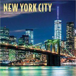 Kalendarz Nowy Jork New York City 2019 Square Wall Calendar